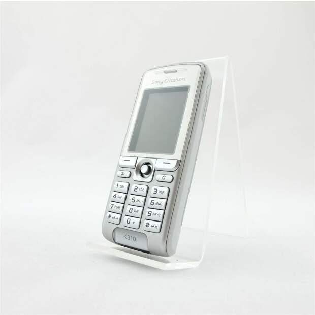 Sony Ericsson K310i Silber Akzeptabel
