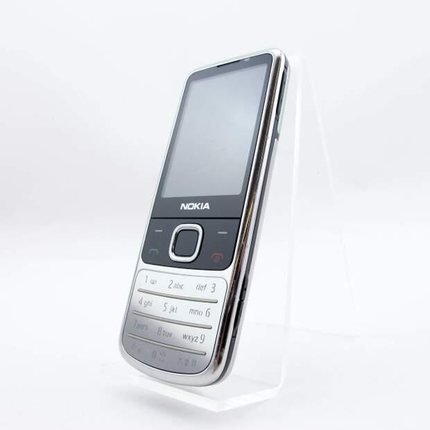 Nokia 6700 Silber Chrome