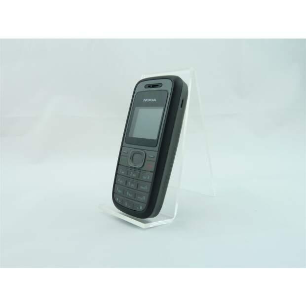 Nokia 1208 Schwarz Akzeptabel