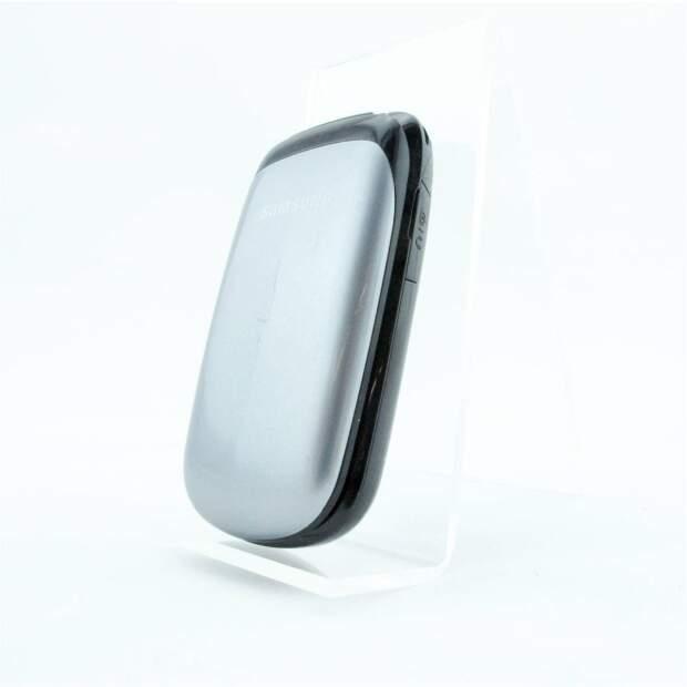 Samsung GT-E1150i titanium Silber
