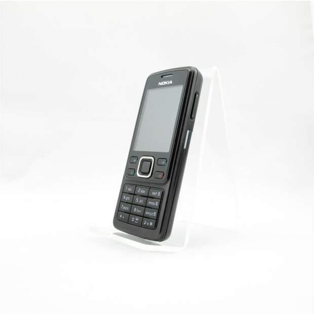 Nokia 6300 Schwarz Akzeptabel