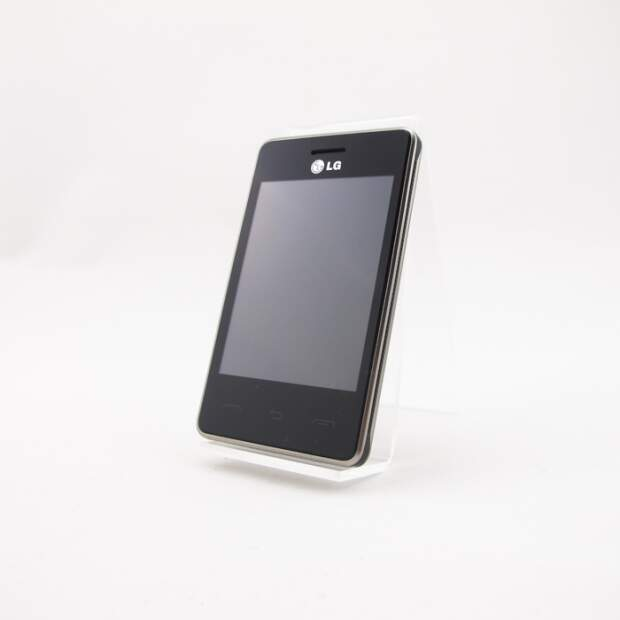 LG T385 Schwarz  Akzeptabel