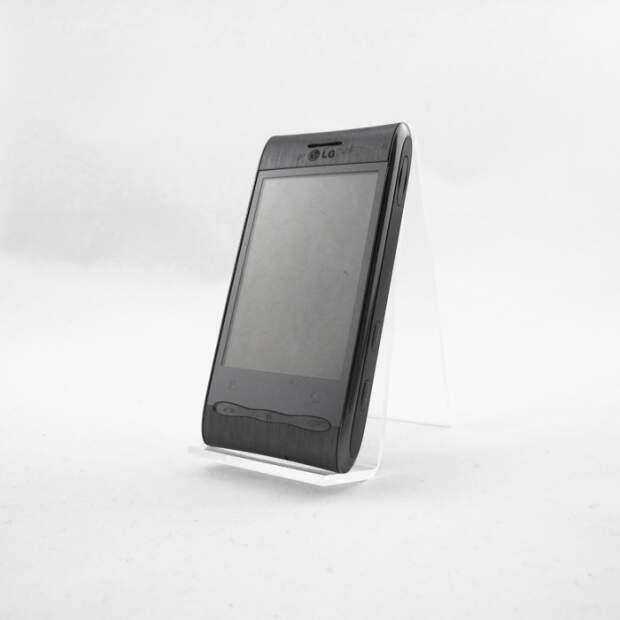 LG Optimus GT540 Silber Akzeptabel
